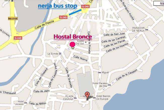 Bus Malaga to Nerja Usefull information